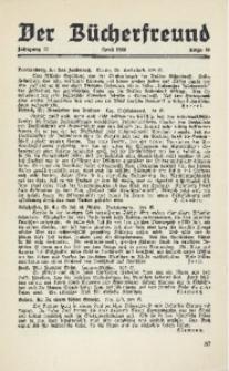 Der Bücherfreund, 1940, Jg. 12, Folge 10