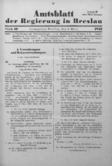 Amtsblatt der Regierung in Breslau, 1943, Bd. 134, St. 10