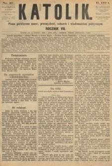 Katolik, 1874, R. 7, nr 37