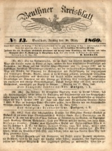Beuthner Kreisblatt, 1860, No. 13
