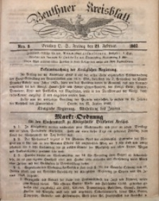 Beuthner Kreisblatt, 1862, Nro. 8