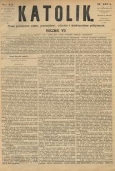 Katolik, 1874, R. 7, nr 46