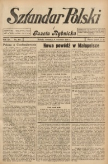 Sztandar Polski i Gazeta Rybnicka, 1934, R. 15, Nr. 103