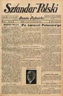 Sztandar Polski i Gazeta Rybnicka, 1934, R. 15, Nr. 121