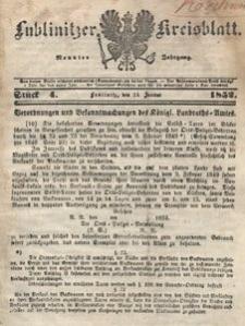 Lublinitzer Kreisblatt, 1852, Jg. 9, St. 4