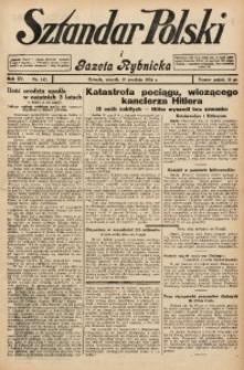 Sztandar Polski i Gazeta Rybnicka, 1934, R. 15, Nr. 147