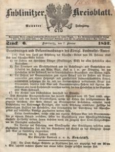 Lublinitzer Kreisblatt, 1852, Jg. 9, St. 6