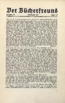 Der Bücherfreund, 1941, Jg. 14, Folge 1/2