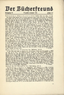 Der Bücherfreund, 1941, Jg. 14, Folge 6/7