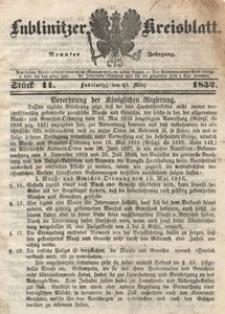 Lublinitzer Kreisblatt, 1852, Jg. 9, St. 11