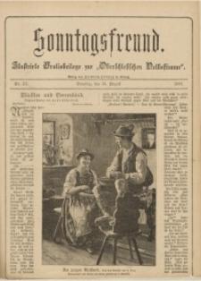Sonntagsfreund, 1898, Nr. 33