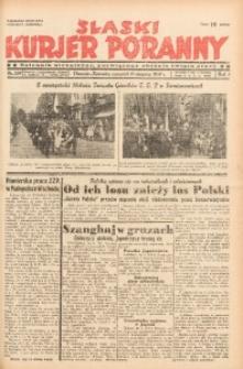 Śląski Kurjer Poranny, 1937, R. 3, Nr. 227
