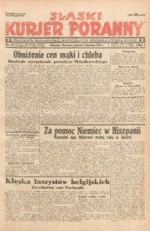 Śląski Kurjer Poranny, 1937, R. 3, Nr. 101