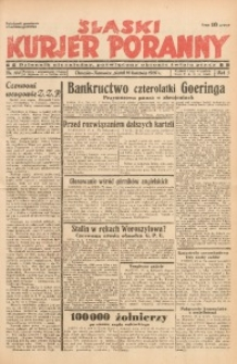 Śląski Kurjer Poranny, 1937, R. 3, Nr. 104