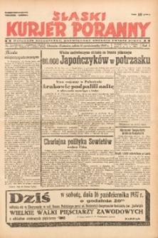 Śląski Kurjer Poranny, 1937, R. 3, Nr. 285