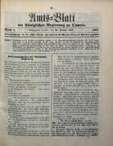 Amts-Blatt der Königlichen Regierung zu Oppeln, 1902, Bd. 87, St. 4