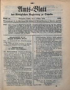 Amts-Blatt der Königlichen Regierung zu Oppeln, 1902, Bd. 87, St. 40