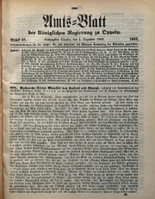 Amts-Blatt der Königlichen Regierung zu Oppeln, 1902, Bd. 87, St. 49