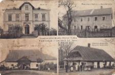 Szkoła Nr.3, Fabryka Watty, Dwór w Komorowicach, Gospoda Kamionka 1903 r