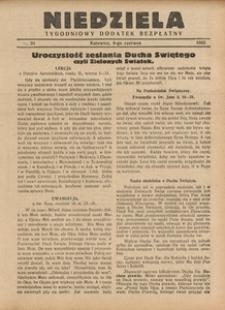 Niedziela, 1933, nr 23