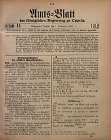 Amts-Blatt der Königlichen Regierung zu Oppeln, 1912, Bd. 97, St. 44