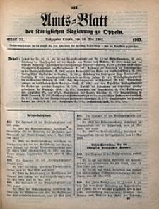Amts-Blatt der Königlichen Regierung zu Oppeln, 1903, Bd. 88, St. 22