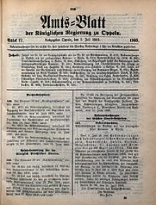 Amts-Blatt der Königlichen Regierung zu Oppeln, 1903, Bd. 88, St. 27