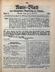 Amts-Blatt der Königlichen Regierung zu Oppeln, 1903, Bd. 88, St. 31