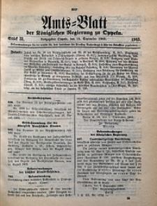 Amts-Blatt der Königlichen Regierung zu Oppeln, 1903, Bd. 88, St. 38