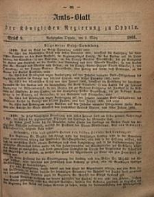 Amts-Blatt der Königlichen Regierung zu Oppeln, 1866, Bd. 51, St. 9
