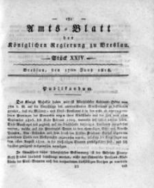 Amts-Blatt der Königlichen Regierung zu Breslau, 1818, Bd. 9, St. 24
