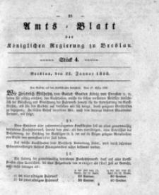 Amts-Blatt der Königlichen Regierung zu Breslau, 1840, Bd. 31, St. 4