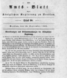 Amts-Blatt der Königlichen Regierung zu Breslau, 1840, Bd. 31, St. 38