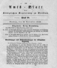 Amts-Blatt der Königlichen Regierung zu Breslau, 1840, Bd. 31, St. 48