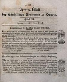 Amts-Blatt der Königlichen Regierung zu Oppeln, 1851, Bd. 36, St. 24