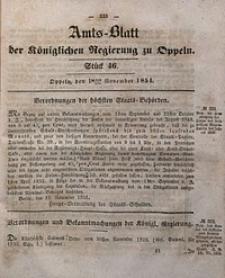 Amts-Blatt der Königlichen Regierung zu Oppeln, 1851, Bd. 36, St. 46