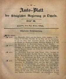 Amts-Blatt der Königlichen Regierung zu Oppeln, 1855, Bd. 40, St. 10