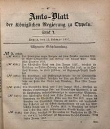 Amts-Blatt der Königlichen Regierung zu Oppeln, 1857, Bd. 42, St. 7