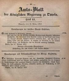 Amts-Blatt der Königlichen Regierung zu Oppeln, 1857, Bd. 42, St. 11