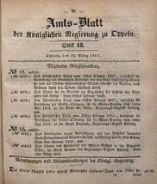 Amts-Blatt der Königlichen Regierung zu Oppeln, 1857, Bd. 42, St. 13