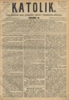 Katolik, 1876, R. 9, nr 8