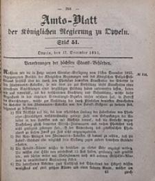 Amts-Blatt der Königlichen Regierung zu Oppeln, 1857, Bd. 42, St. 51
