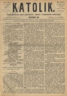 Katolik, 1876, R. 9, nr 12