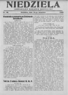 Niedziela, 1928, Nr. 38