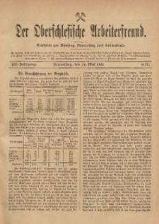 Der Oberschlesische Arbeiterfreund, 1911/1912, Jg. 12, No 17