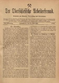 Der Oberschlesische Arbeiterfreund, 1911/1912, Jg. 12, No 18