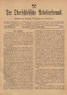 Der Oberschlesische Arbeiterfreund, 1911/1912, Jg. 12, No 32