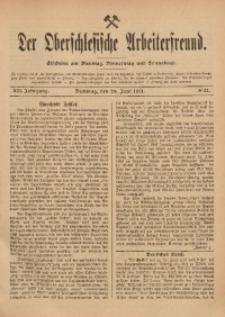 Der Oberschlesische Arbeiterfreund, 1911/1912, Jg. 12, No 33