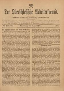 Der Oberschlesische Arbeiterfreund, 1911/1912, Jg. 12, No 34