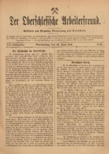 Der Oberschlesische Arbeiterfreund, 1911/1912, Jg. 12, No 37